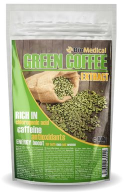 Green Coffee Extract - extrakt ze zelené kávy 100g