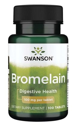 Swanson Bromelain (Bromelin), 100 mg, 100 tablet