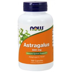 NOW® Foods NOW Astragalus, 500 mg, 100 kapslí